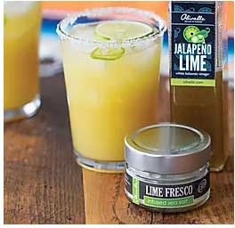 Jalepeño Lime Balsamic Margaritas